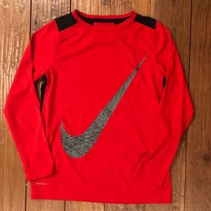 Nike® Boy's Dri-FIT Training Long Sleeve Shirt